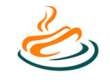 Fastfood or takeaway food  hotdog icon