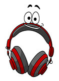 Headset cartoon illustration