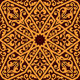 Arabian seamless tile pattern
