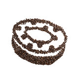 Coffee Bean Donut