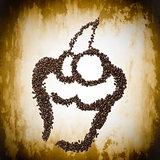 Coffee Bean Muffin