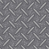 seamless steel diamond plate grunge texture background