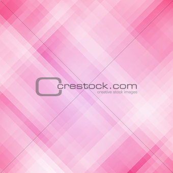 Abstract pink geometric pixel background