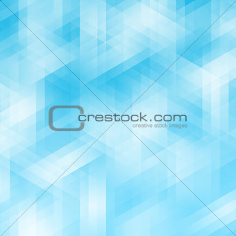 Abstract blue geometric pixel background