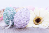 beautiful easter egg decoration colorfull eggs seasonal pastel