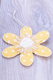 Pretty pastel polka dot flower gift tag