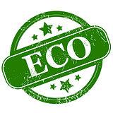 Grunge eco icon