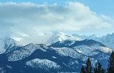 Winter mountain landscape (Slovakia, High Tatras).