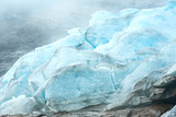 View to Svartisen Glacier (Norway)