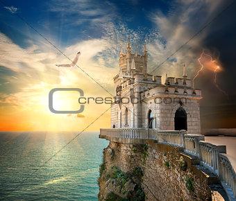 Castle in the Sea