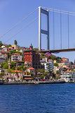 European Side of Bosphorus Bridge