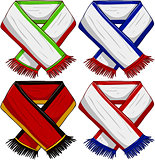 Sports Team Scarf Pack 2