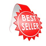 Best seller star label