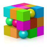 Color cube and sphere