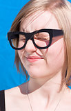 Vision Impaired Woman
