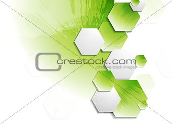 Abstract grunge vector technology background