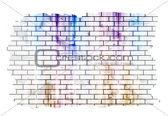 Abstract grunge tech vector background