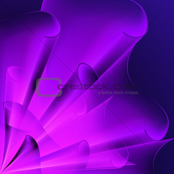 Background of purple flags