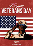 Veterans Day Greeting Card American