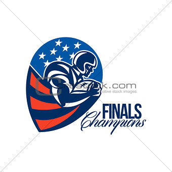 American Football Finals Champions Retro