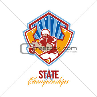 American Football Quarterback State Championships