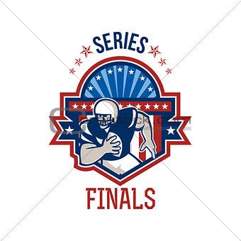 American Football QB Series Finals Crest