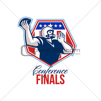 American Football Quarterback Shield Conference Finals