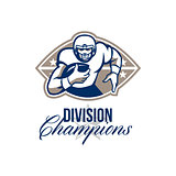 American Football Runningback Division Champions