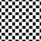 Design seamless monochrome tetragon pattern. Abstract geometric