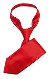 Red elegance tie