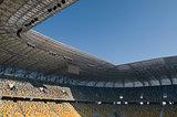 modern football stadium