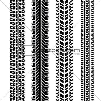 tire prints