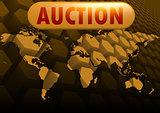 Auction world map