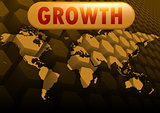Growth world map