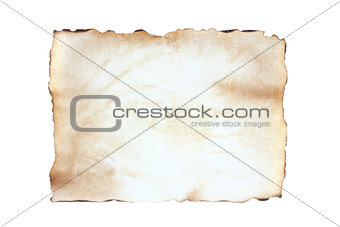 Old sheet blank paper
