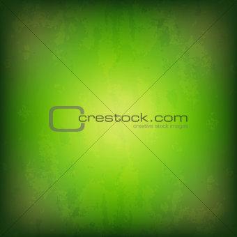 Grunge Green Background