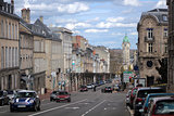 Limoges, France. Streets of City center