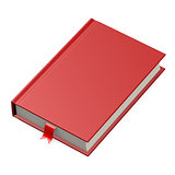 Isolated red book