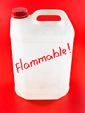 flammable canister