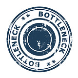 Bottleneck concept stamp