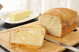 Hot buttered bread