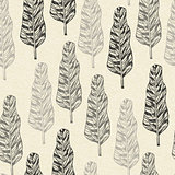 Vector Seamless Pattern with trees