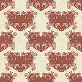 vector valentine's seamless romantic background