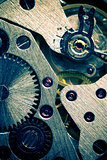 Macro Mechanical Gear Background