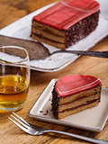 Slice of Whisky cake