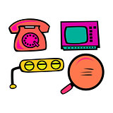 Cute Utilities Vector Pack