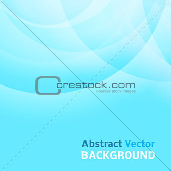 Abstract light blue background. Vector illustration.