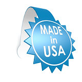 Made in USA star label
