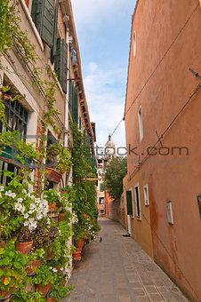 Venice Italy unusual scenic view