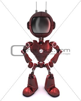 3D Render of an Android